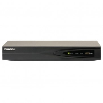 Hikvision 4Ch NVR, with built-in 4 port PoE, up to 5m Recording Resolution