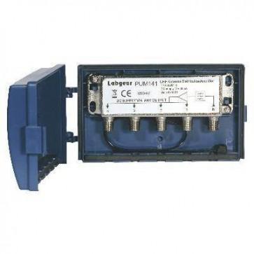 Labgear 4 Way UHF Masthead Amplifier 10dB