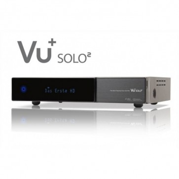 VU+ Solo2 HD Linux Satellite Receiver DVB-S2 Twin Tuner PVR Ready