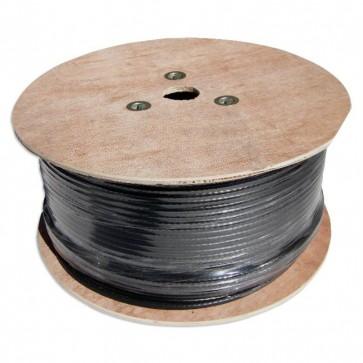 MaxxOne Coaxial Cable RG6 75 ohm 250M (Black)