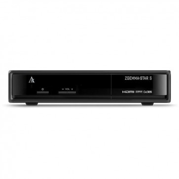 ZGemma Star S Single Tuner DVB-S2 Receiver
