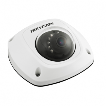 HikVision 4MP Vandal Proof Mini Dome IP Camera with Built in Microphone, PoE and 10m IR