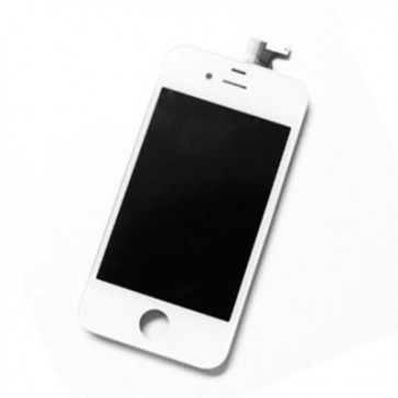 iPhone 4S Replacment LCD Outer Frame WHITE