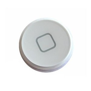 iPod 4 5 Replacement Home Button Plastic WHITE