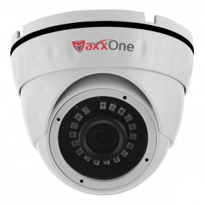 MaxxOne All-in-One 2.1MP 1080P 3.6mm 20m IR Dome Camera (White)