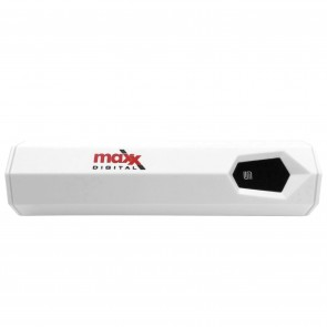 MaxxOne 2600mAh USB Power Bank (White)