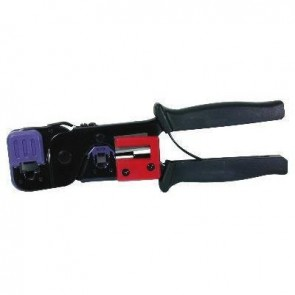 RJ45 and RJ11 Cut, Strip & Crimp Tool