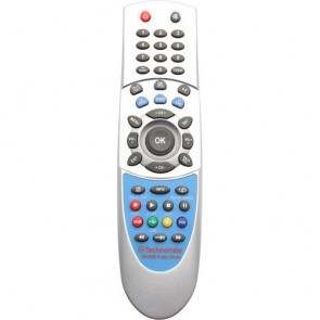 Technomate TM-5000 Super Series Silver Replacement Remote Control RCU (Silver)