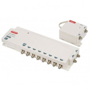 8 Way Distribution Amplifier With Digital Bypass & External PSU