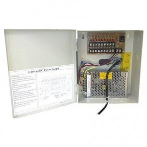 SAC SE9639 12V/10A 9-Way CCTV Power Supply Box
