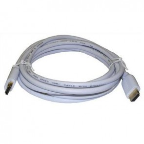 SAC AE0503W 3m HDMI Lead 1.4 3D/1440P (White)