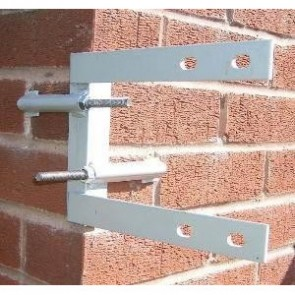 Galvanised Self Supporting Corner Bracket 8""