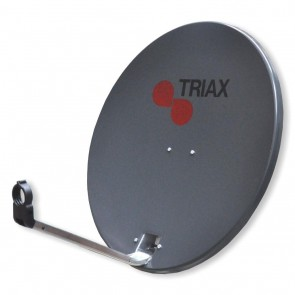 Triax 122568 TD54 54cm Solid Satellite Dish Dark Grey (NO LNB)