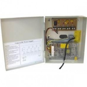 SAC SE9638 12V/5A 4-Way CCTV Power Supply Box