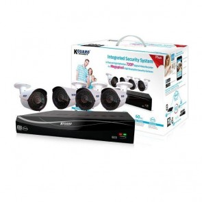 KGuard 4 Channel CCTV Kit with 4x AHD 720p Cameras