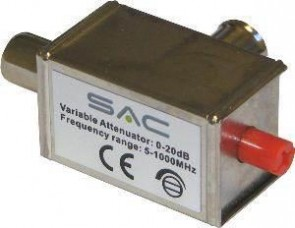 SAC AE5199 Variable Attenuator IEC 0-20db 5-1000MHz
