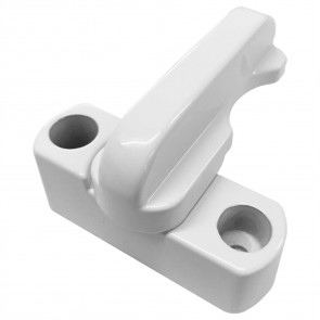 Universal Sash Jammer uPVC Zinc Alloy Window/Door Safety Lock (White)