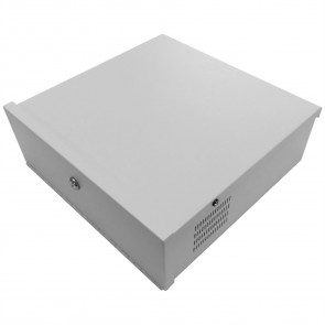 "MaxxOne CCTV DVR Security Lock Box 15"" White (Small)"