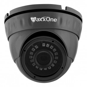 MaxxOne All-in-One 2.1MP 1080P 3.6mm 20m IR Dome Camera (Grey)