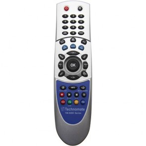 Technomate TM-5000 Series Replacement Remote Control RCU (Grey)
