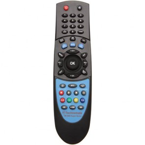 Technomate TM-5000 Super Series Black Replacement Remote Control RCU (Black)