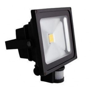 BG LDFLP30W-01 Guardian LED Floodlight with PIR 30 Watt