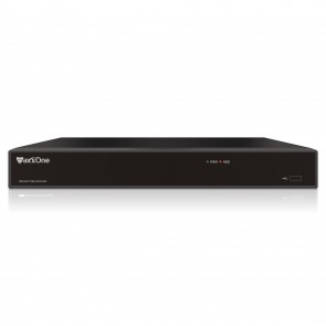 MaxxOne 4K Ultra HD, 16ch, IP NVR with POE