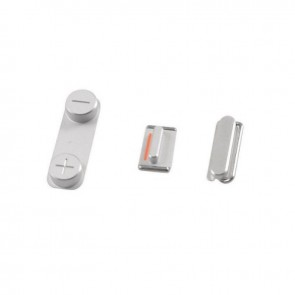 iPhone 5S Replacement Button Set (SILVER)