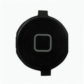 iPod 4 5 Replacement Home Button Plastic BLACK