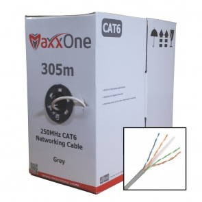 Maxx Digital MD-C6-305G Indoor CAT6 Cable 305M (Grey)