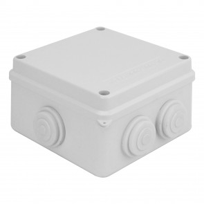 External Junction Box 100x100x70mm (White)
