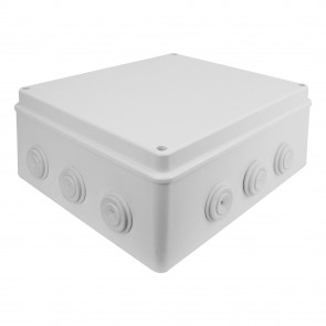 External Junction Box 300mm x 250mm x 120mm (White)