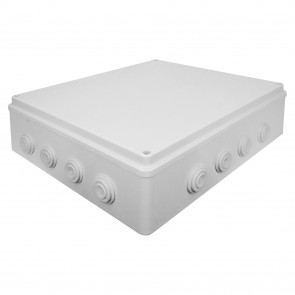 External Junction Box 400x350x120mm (White)