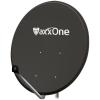 MaxxOne Solid 1m (100cm) Satellite Dish Universal