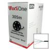 MaxxOne CAT5E 305m UTP Data, CCA, Outdoor Cable (Black)