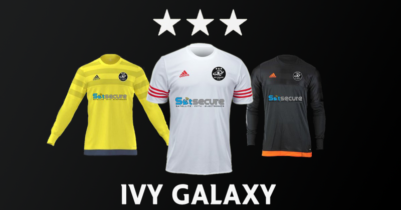 Satsecure Sponsors Local Footballing Heroes Ivy Galaxy