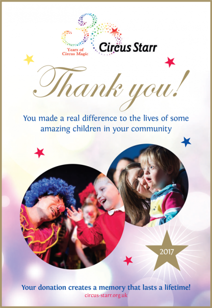 Satsecure Proud Sponsors of Circus Starr
