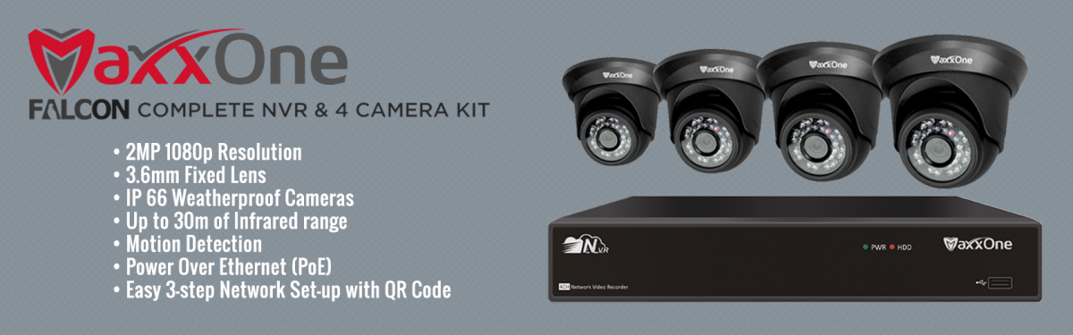 MaxxOne Falcon CCTV Kit