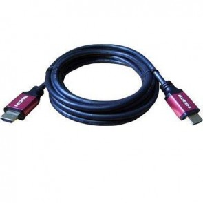 HDMI 4K (2160p) 3m Cable v2.0 (Red)