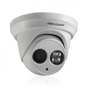 HIKVision 3MP AV IR Network IP External Dome Camera, 1/3'' Progressive CMOS, ICR, 2048x1536, 4mm Lens (White)