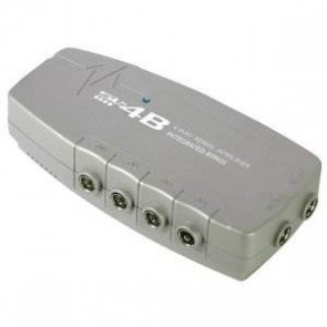 4 Way Distribution Amplifier With Digital Bypass - 4G Compatible
