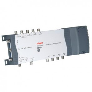 Labgear LDU604G 4 way distribution unit with CCTV input