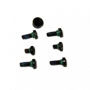 Motorola ES400 Replacement Outer Screw Set & Rubber Cap (x7 Pieces) Genuine OEM
