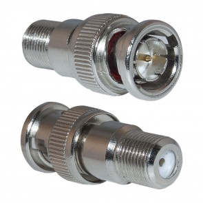 BNC to F-Connector (Pack of 25)