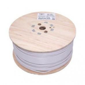 Webro WF100 75 Ohm Coax Cable Drum 250m - White