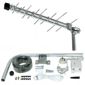 Philex SLx 27885R 16 Element Megaboost Compact Amplified Digital Aerial Kit