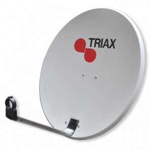 Triax 122737 TD78 78cm Solid Satellite Dish Light Grey (NO LNB)