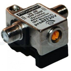 Blake Proception PROATT20V Variable Attenuator 0 - 20dB 5 - 1000MHz, DC Blocked