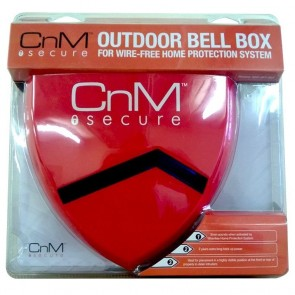 CnM Secure SEC-EXT-ALA Outdoor Bell-Box Alarm Siren