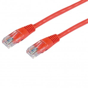 Philex 70528RE Red UTP CAT5E Network Cable 3m